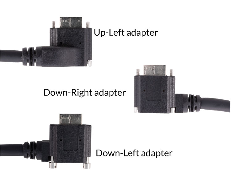 USB3 cable adapters